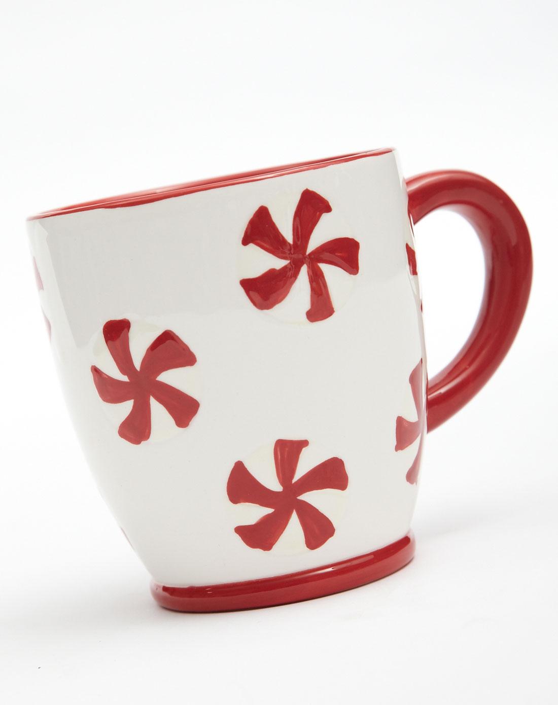 陶瓷手绘立体浮雕奶茶杯