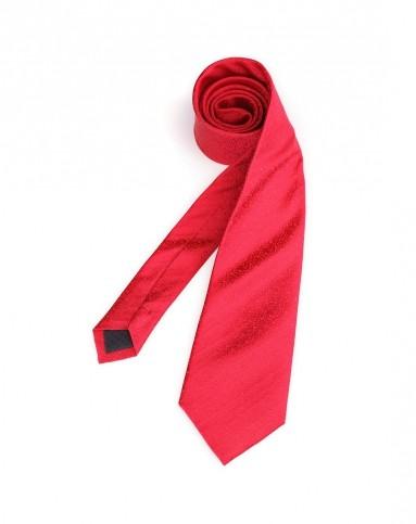 红色热情绅士领带