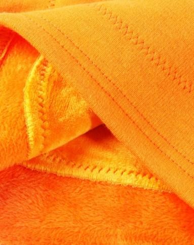 黄金甲文胸_女童橙色纯色条纹黄金甲内衣套装