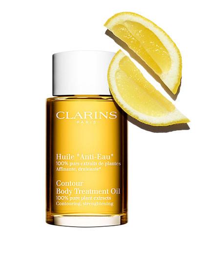 Clarins『植物排水油』轻盈紧塑护理油