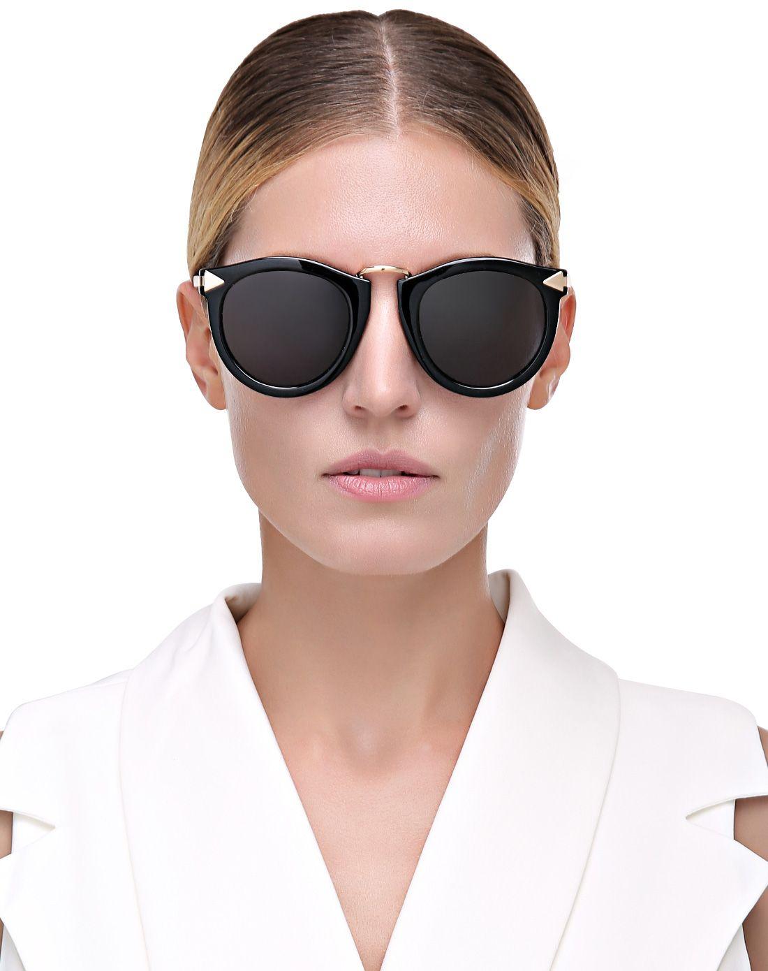 帕森parzin眼镜专场复古圆框箭头偏光太阳镜923101