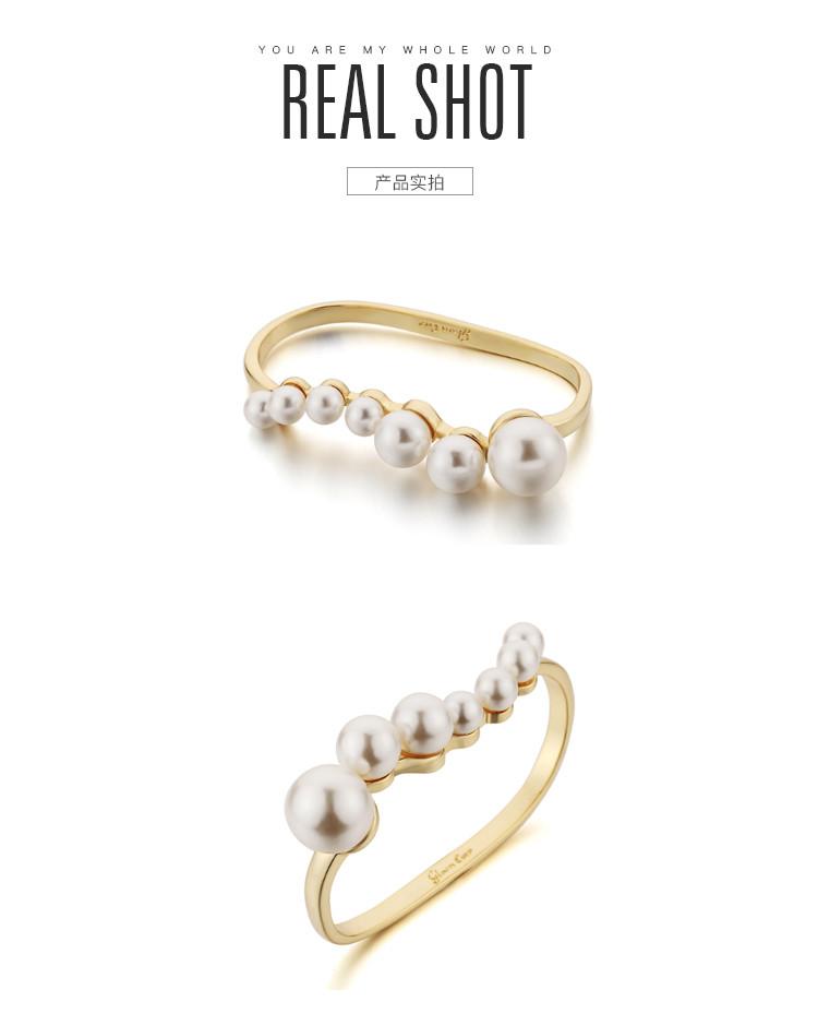 glam ever 新款 珍珠戒指