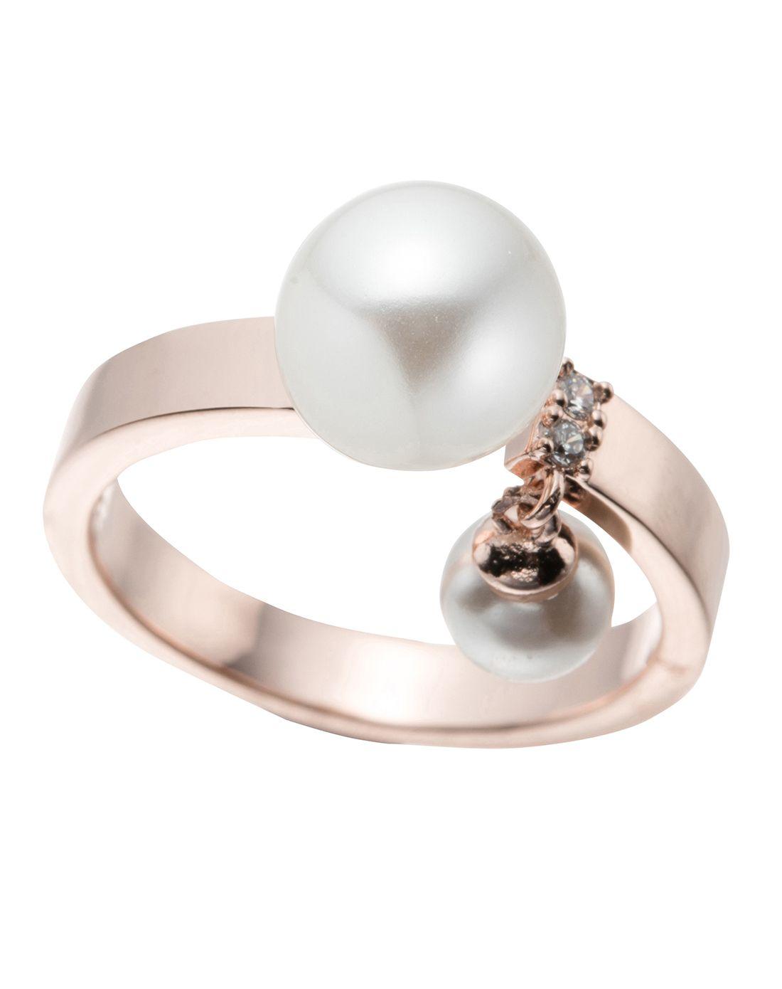 clue双珍珠戒指