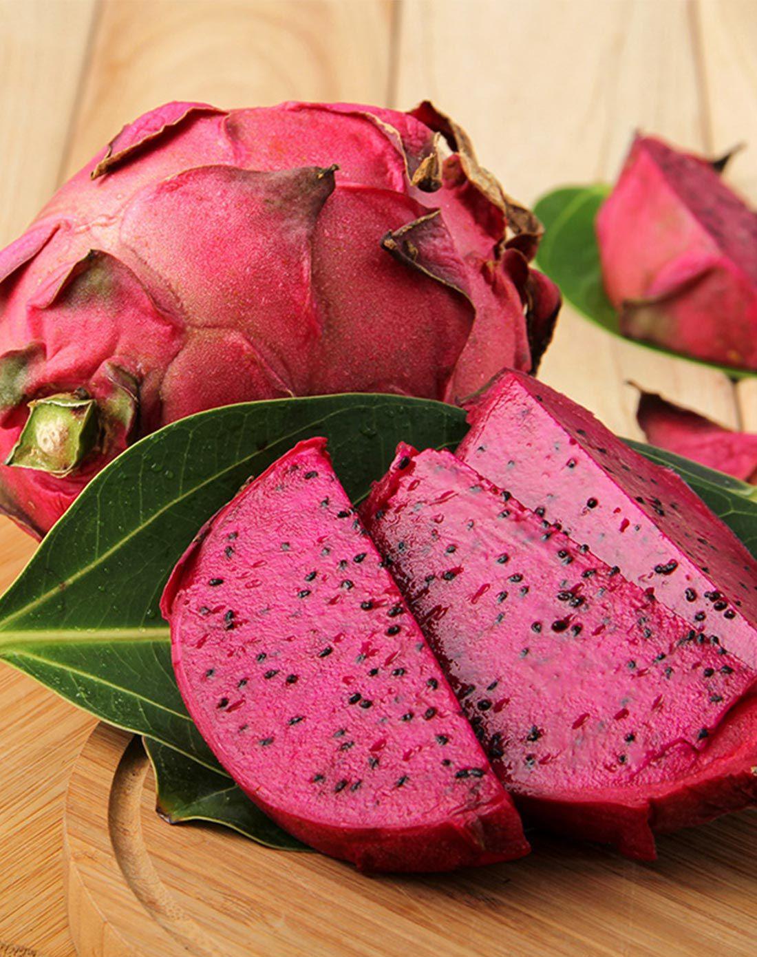 海南北纬18度国产火龙果5斤装 清甜多汁