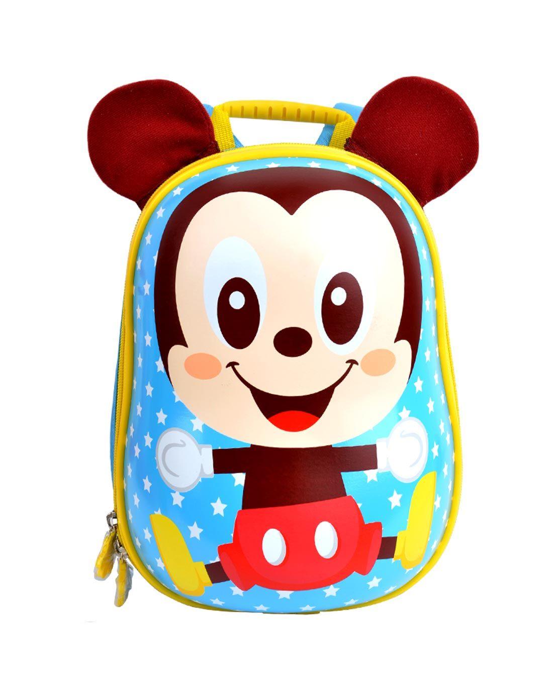 迪士尼 男童蓝色可爱米奇宝宝小背包