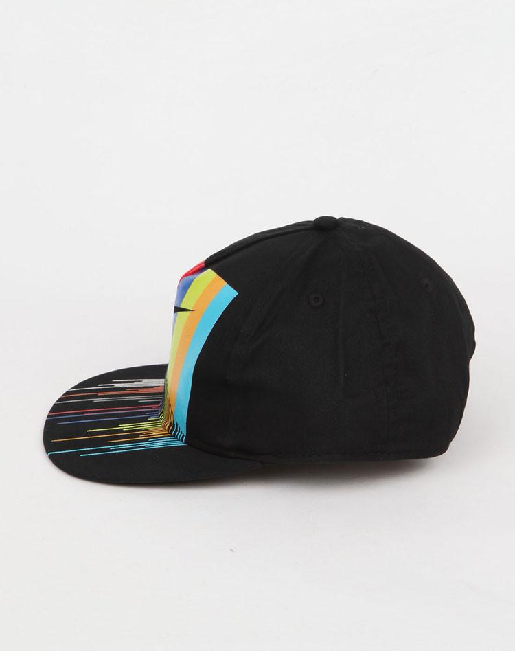 nike 男童正黑帽子