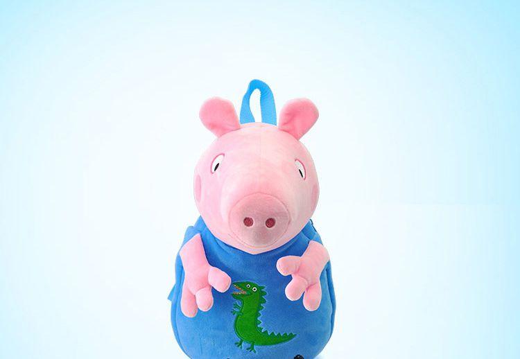英国小猪佩奇可爱卡通玩具专场 正版毛绒公仔背包儿童包包乔治