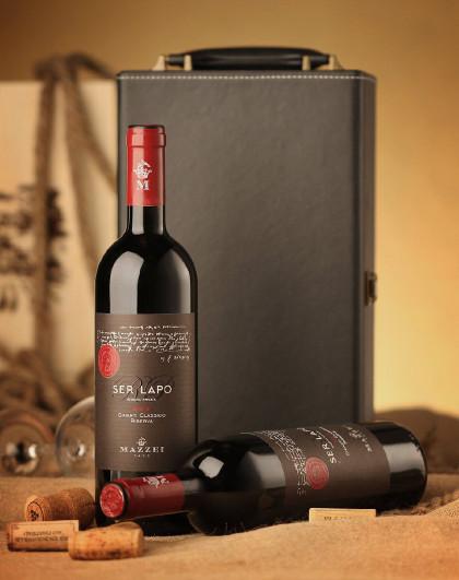 私藏干红葡萄酒双支装+礼盒
