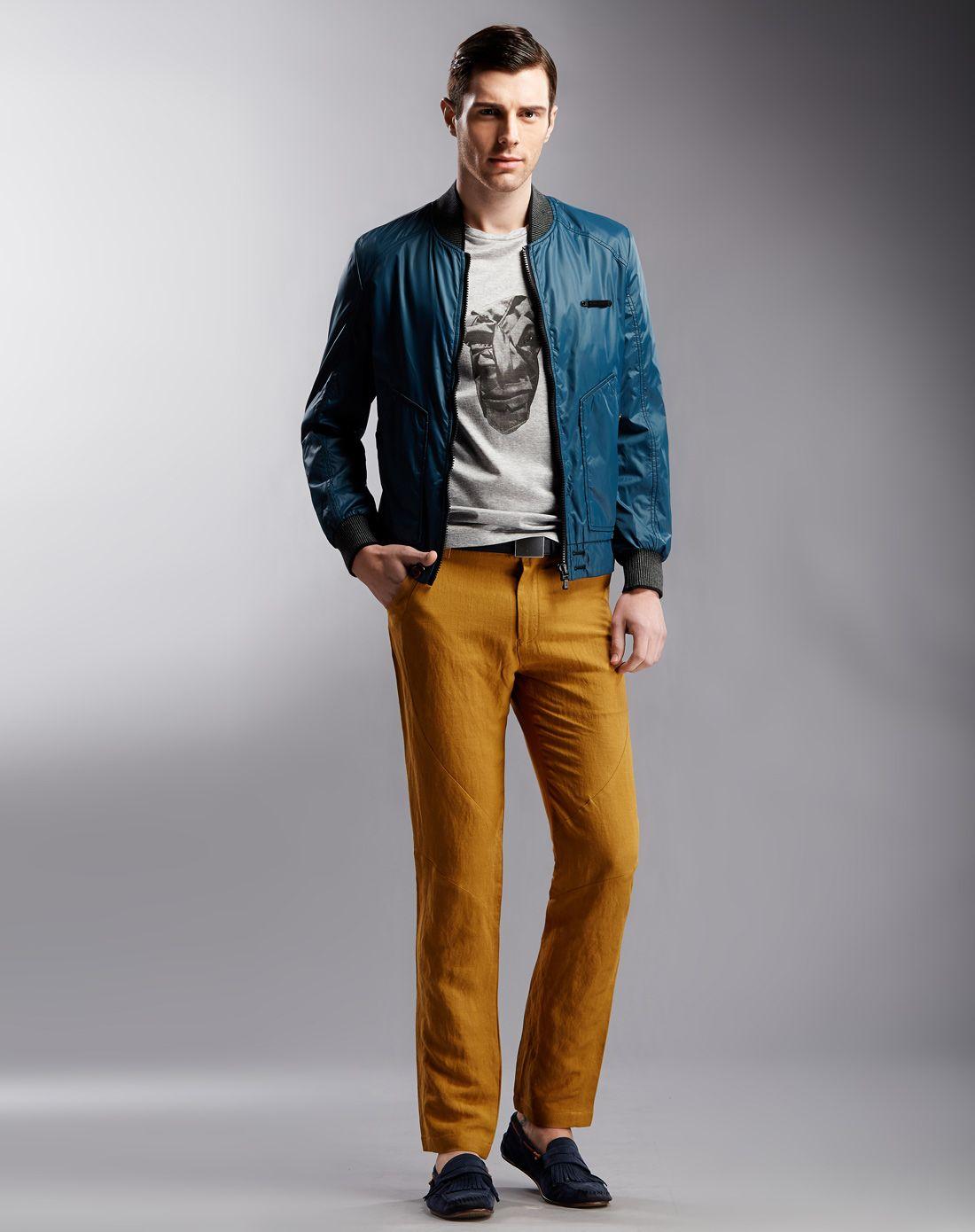 男士新款高檔舒適時尚格調休閑裝圖片