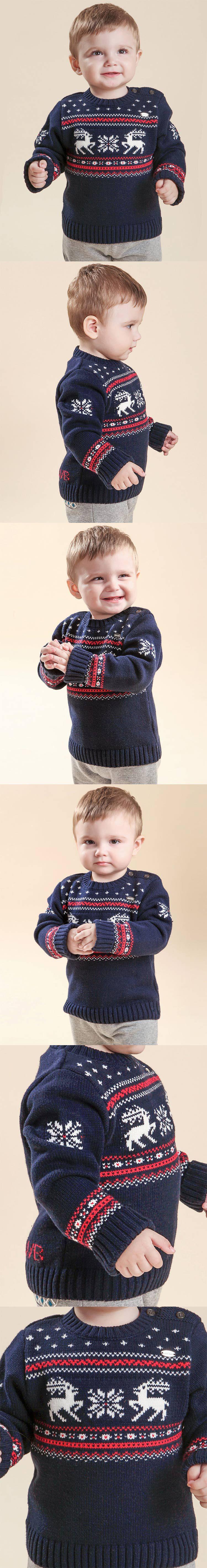 商品名称: 男婴藏青色毛衣 商品分类: 婴幼儿外出服 产地: 中国 材质