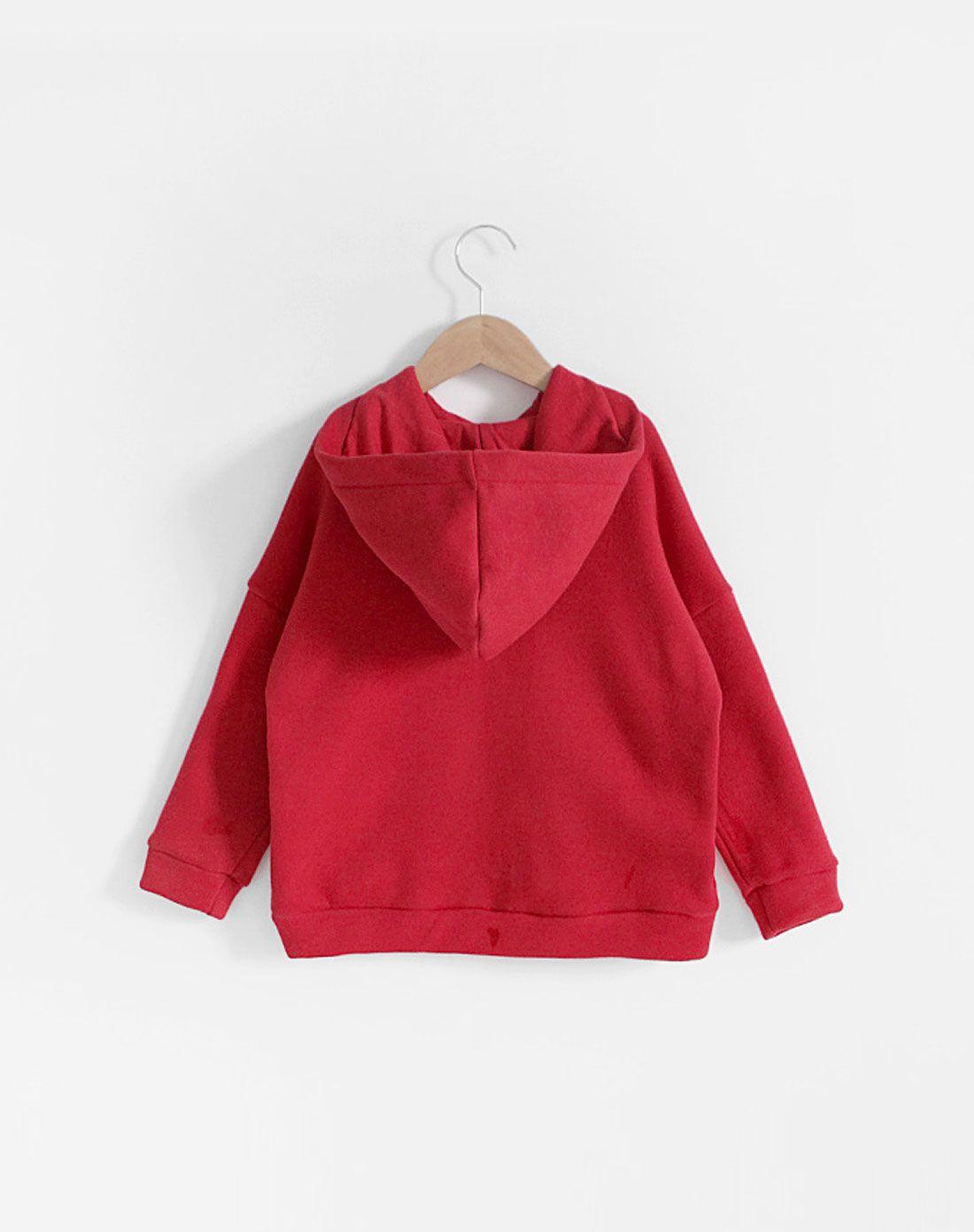 橘红色头�_> stylenoriter橘红色加厚帽头卫衣套装