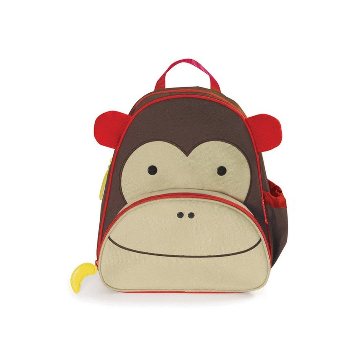 > 美国skip hop可爱动物园(猴子)儿童双肩背包