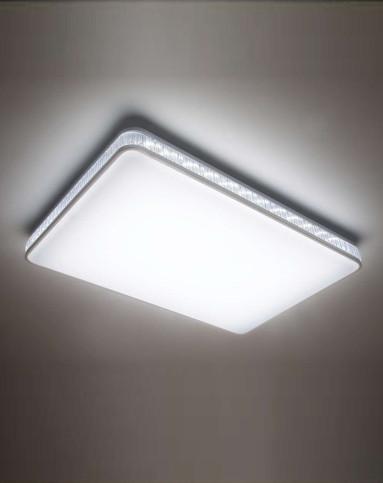 智能遥控led80w吸顶灯 三段调光yy