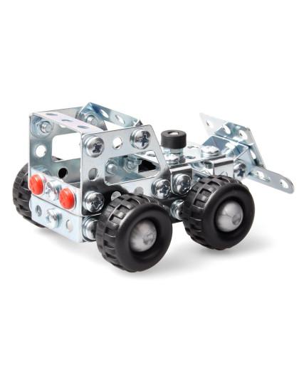 德国原装进口拼装模型 小推土车