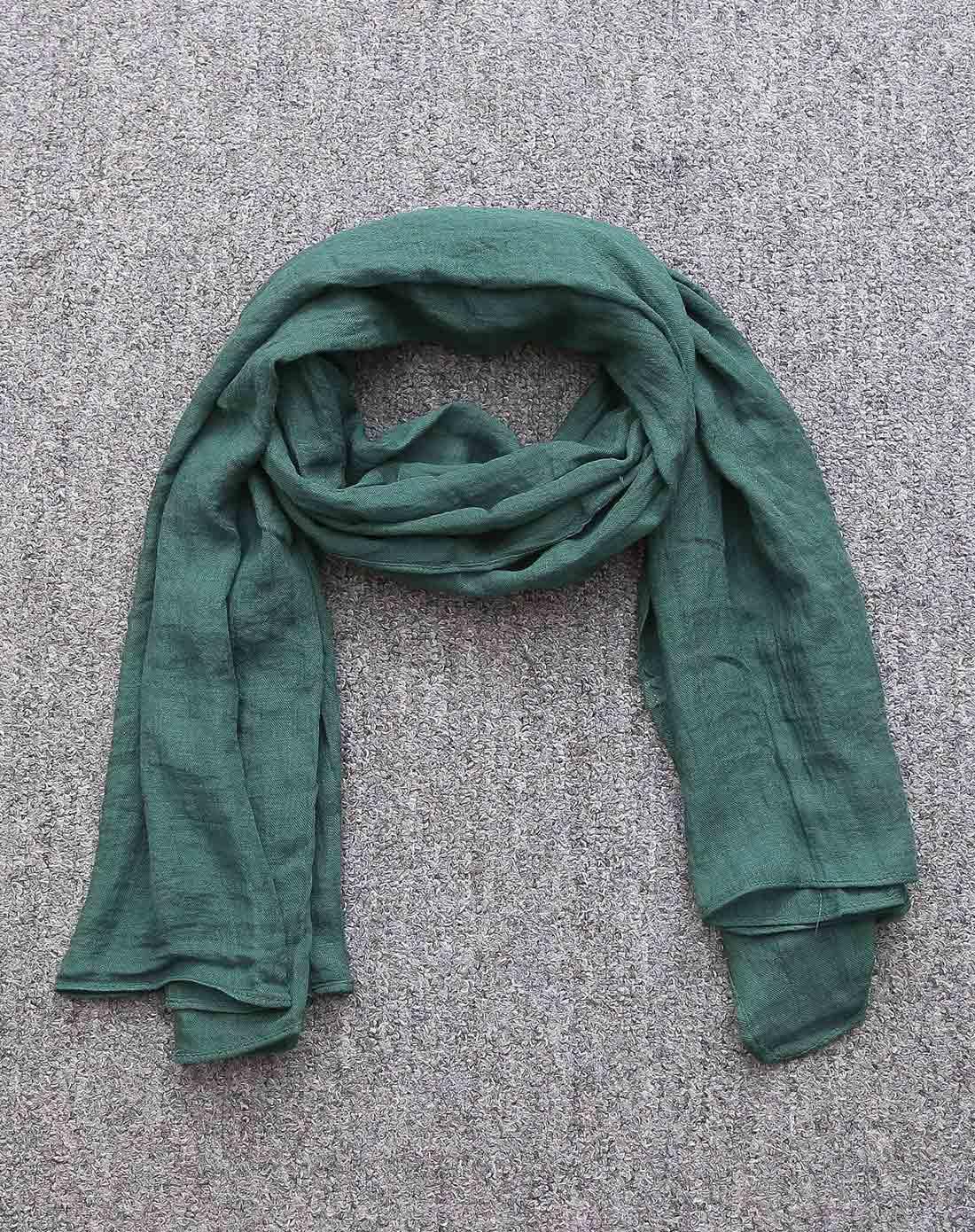 儿童深绿围巾