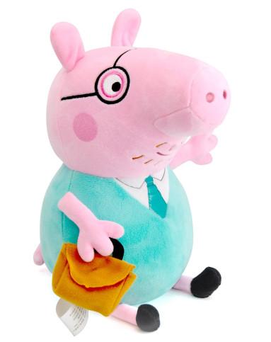 旗舰店--小猪佩奇卡通玩具毛绒公仔玩具猪爸爸30cm015
