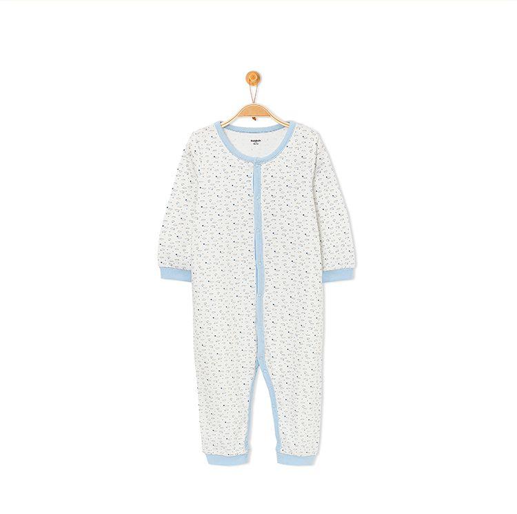 品牌名称: 巴拉巴拉 商品名称: 男婴童连体衣 产地: 中国 材质: 100%