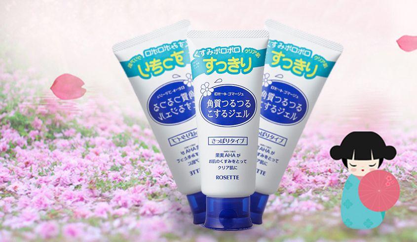 你去日本该买啥rosette诗留美屋面部去角质凝胶啫喱