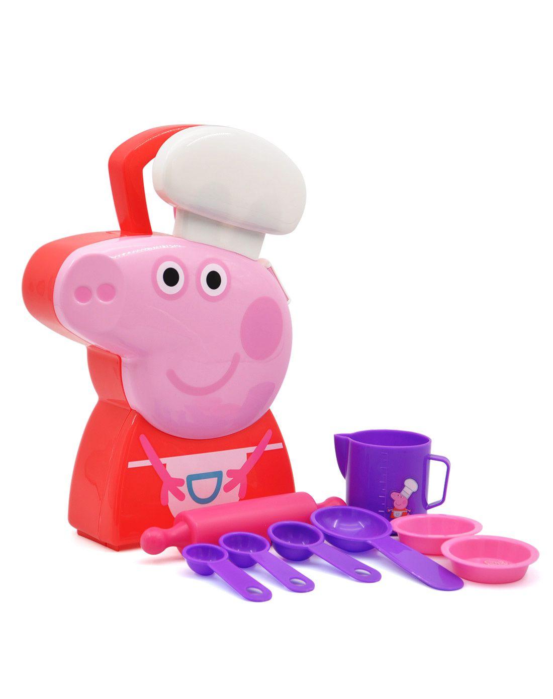 旗舰店--小猪佩奇卡通玩具角色扮演系列玩具厨师手提