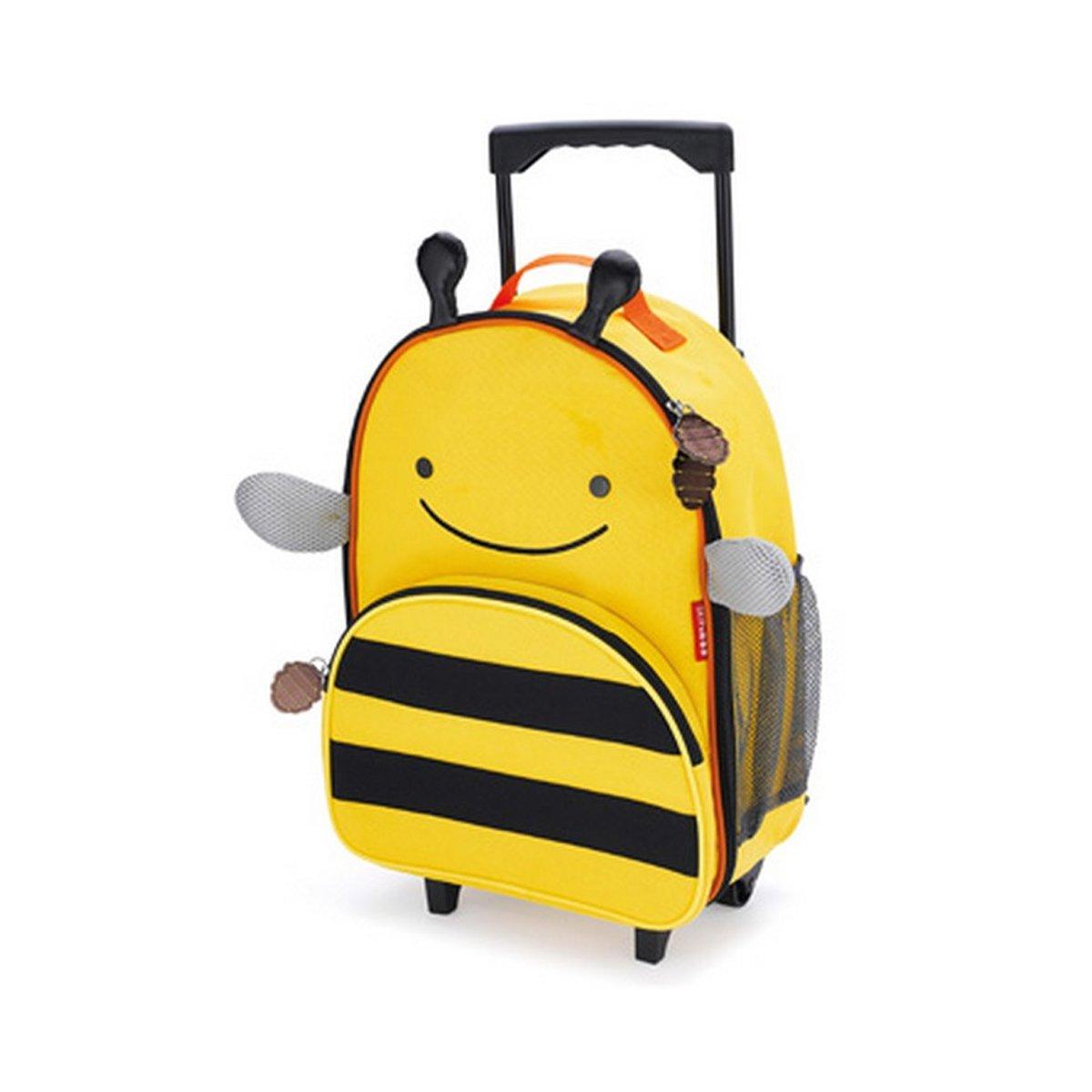 美国skip hop儿童行李箱 可爱动物园系列(小蜜蜂) 可拉可背 时尚拉杆