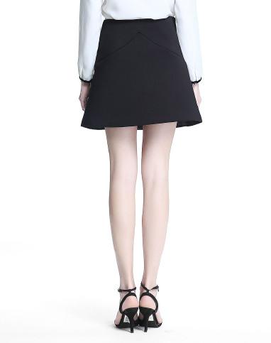 裙黑�_黑短裙