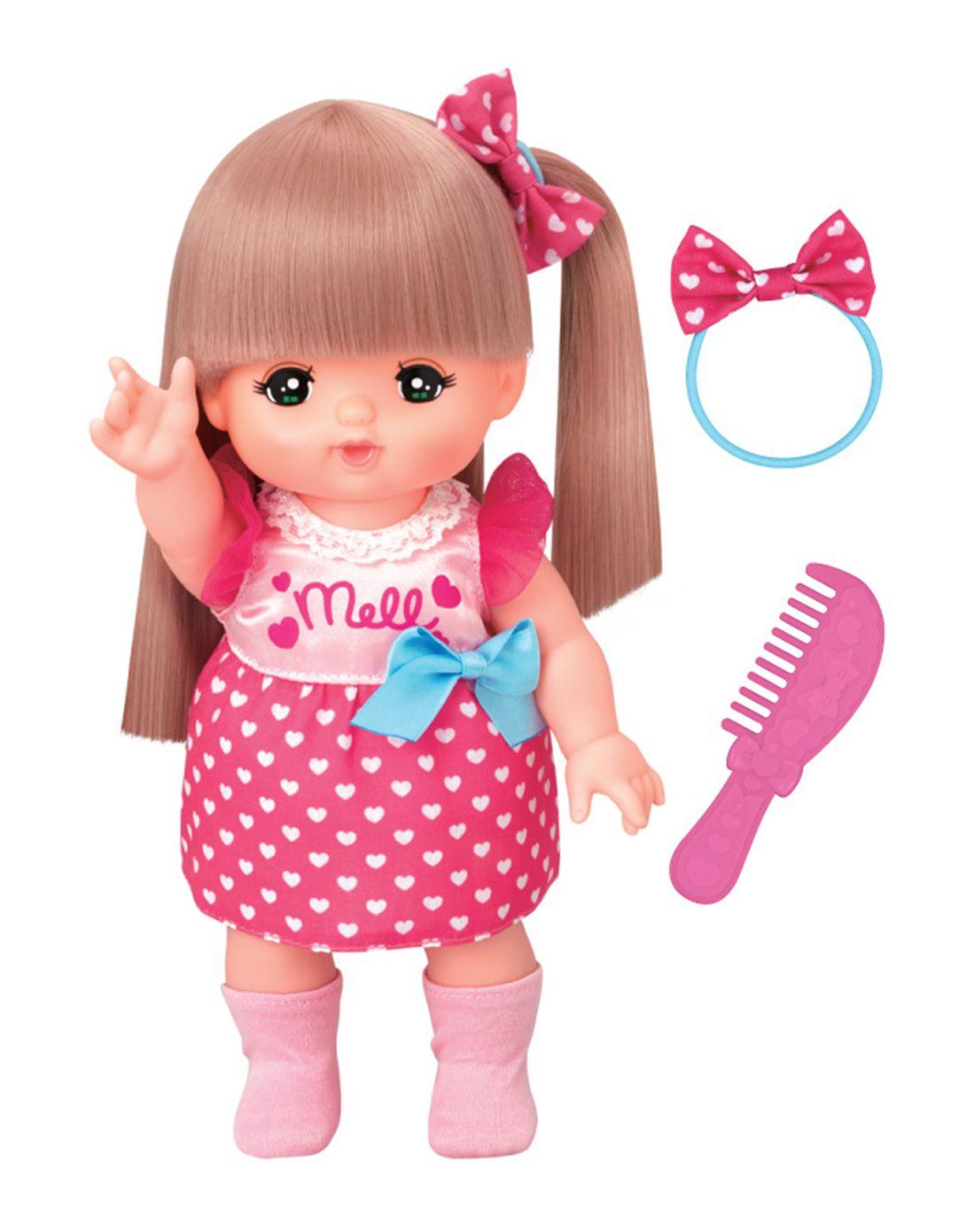 跑车新版咪露长发玩具娃娃玩具莲花elise图片