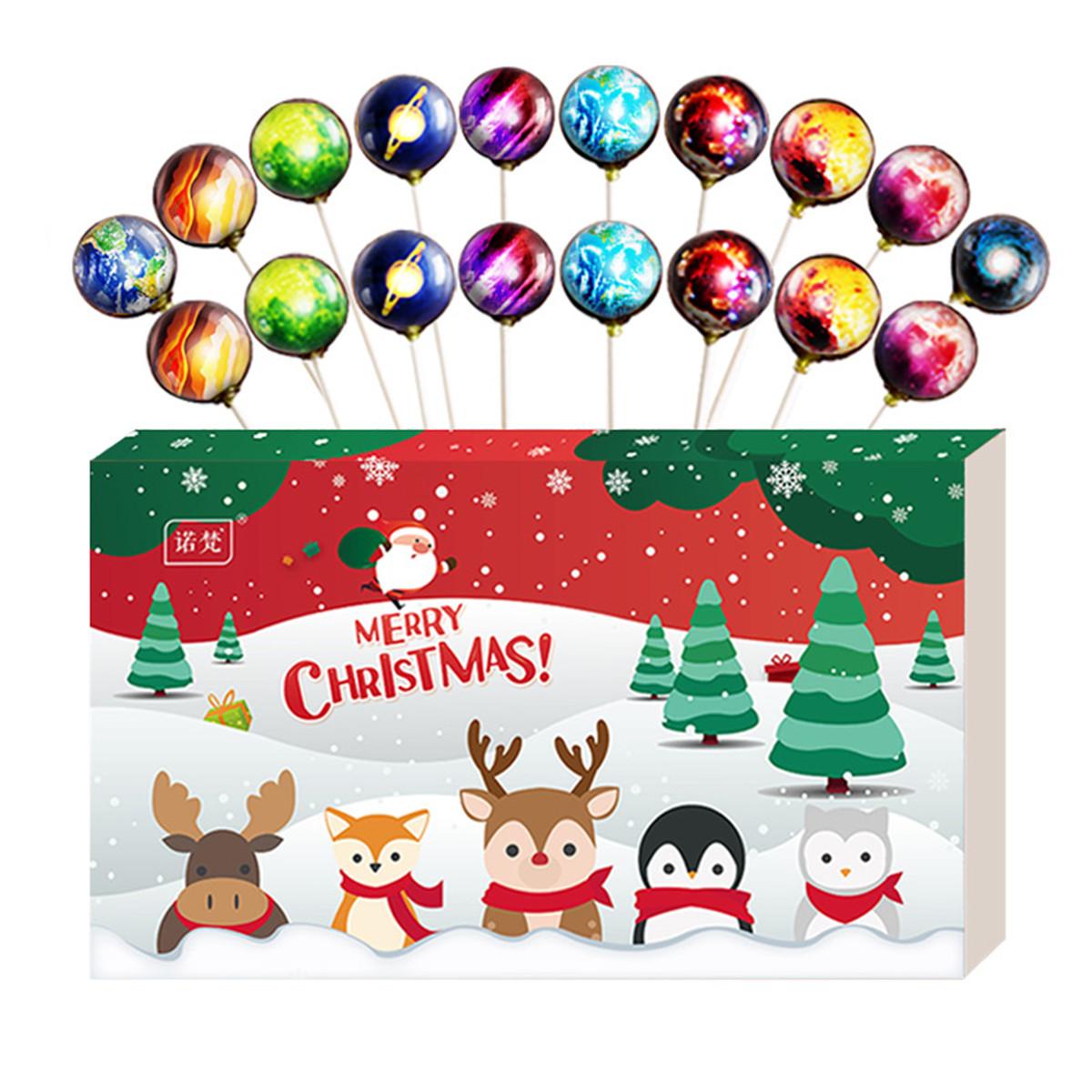 巧诺梵圣诞节创意糖果星空糖棒棒糖礼盒装送女友生日情人节礼物零食年货COLOR其它颜色