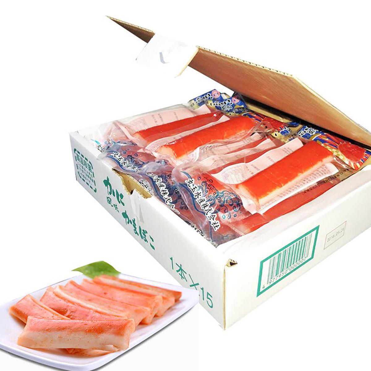 春捃【日本进口】春捃 即食蟹柳味鱼肉棒 45g*15COLOR蟹柳味鱼肉棒