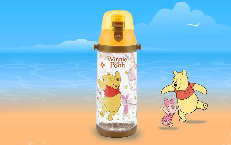 迪士尼维尼熊550ml直饮学生水壶