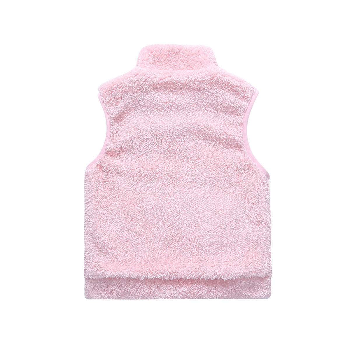 小熊维尼-中性珊瑚绒时尚马甲