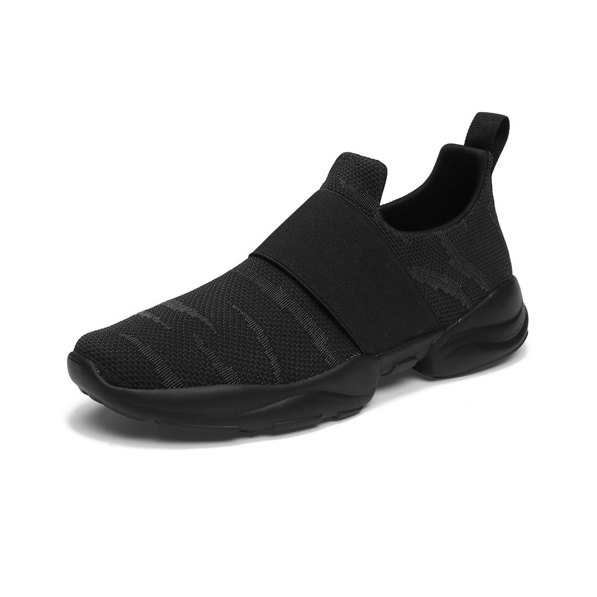 快乐玛丽秋冬新款男鞋美式休闲舒适套脚厚底增高时尚迷彩男士懒人鞋运动鞋78198M01