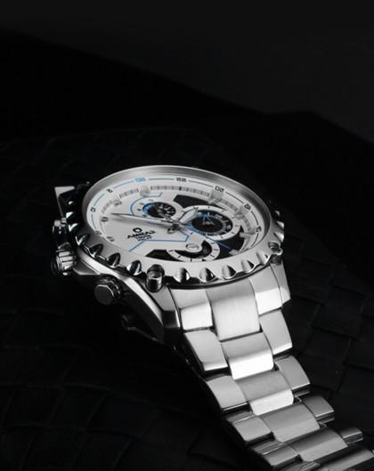 casima【运动潮男】赛车表盘男士石英手表