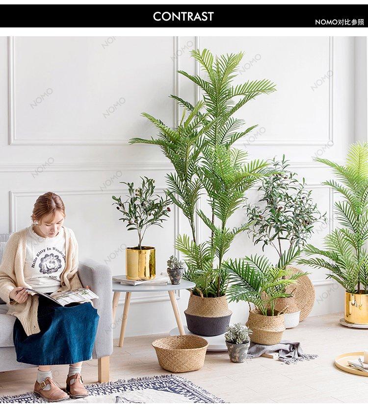 欧式客厅仿真干花插花器装饰品花瓶客厅别墅装修花器绿植伴侣花艺花器