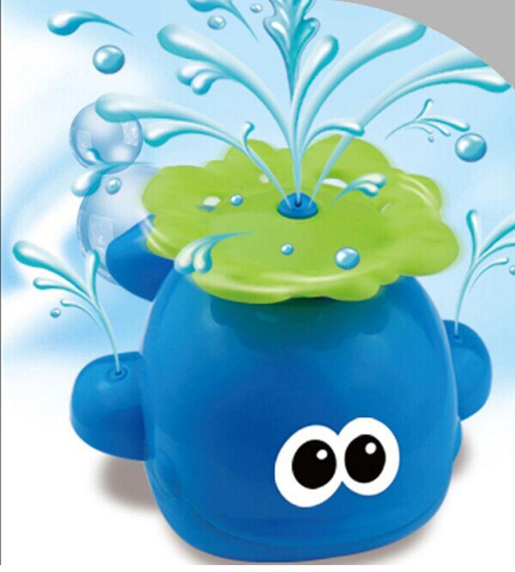 儿童宝宝沐浴洗澡玩具戏水玩具自动喷水可爱小鲸鱼