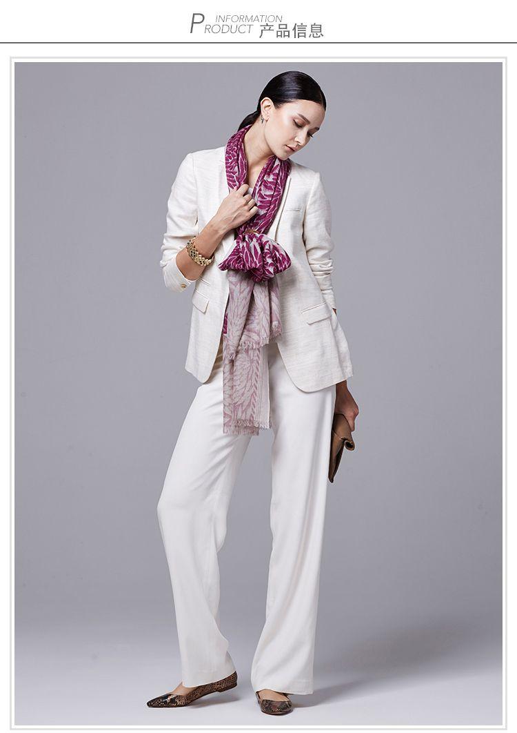 alissa cyrine 和风之花羊毛围巾