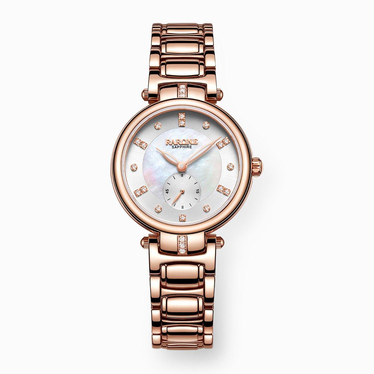 雷诺【专柜同款】女士手表进口石英机芯商务大气时尚女款精致手表8320198F050541
