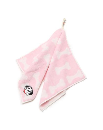 shine love可爱动物刺绣面巾