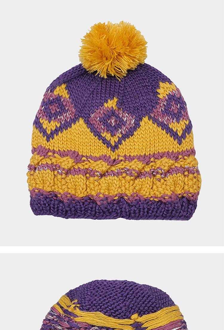 帽子丝线编织花样