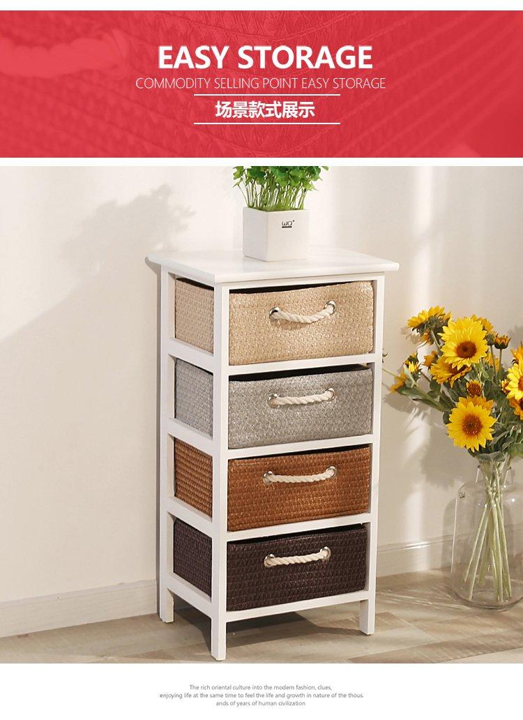 卧室床头柜简约实木小柜子收纳柜
