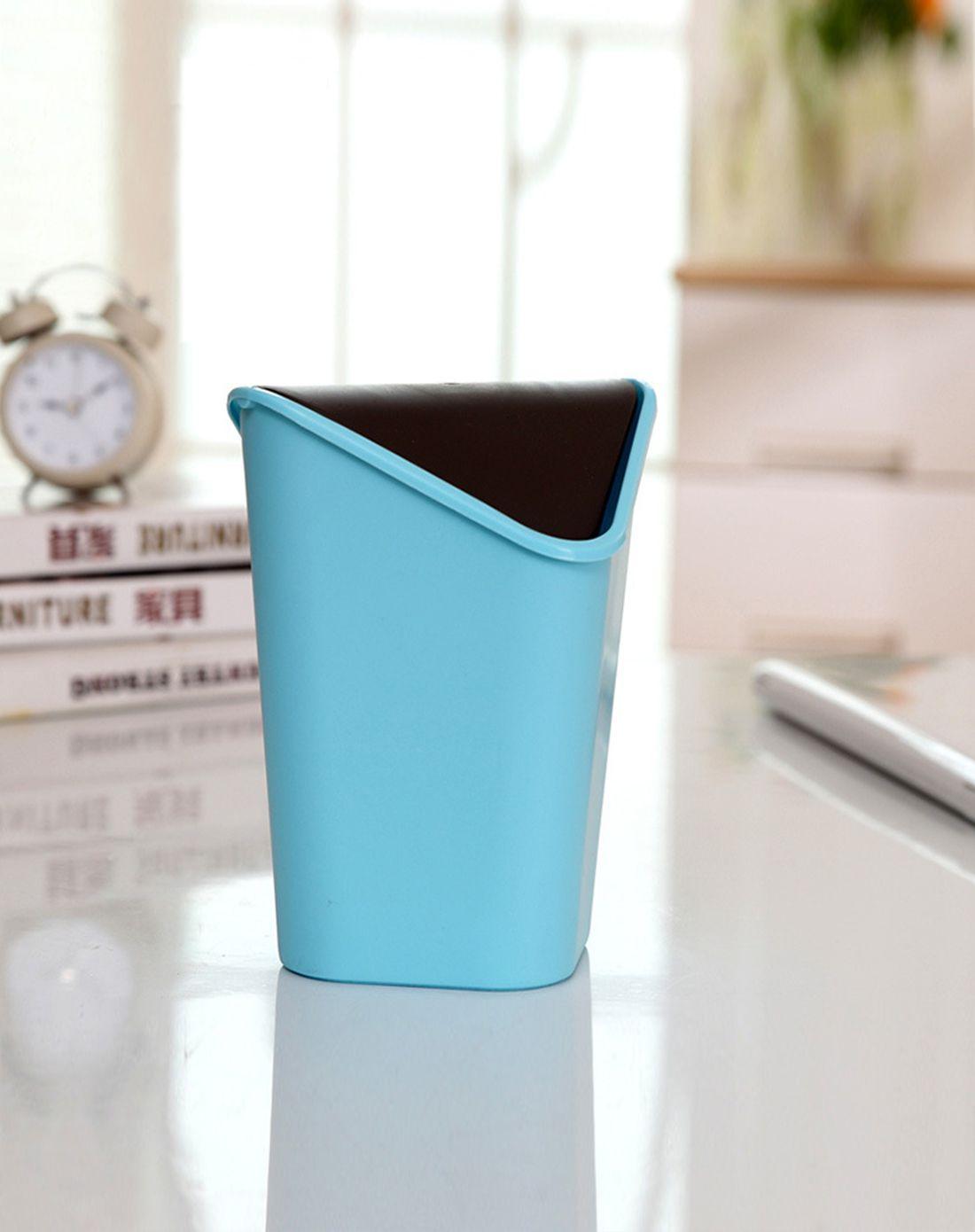 创意家用塑料桌面垃圾桶桶