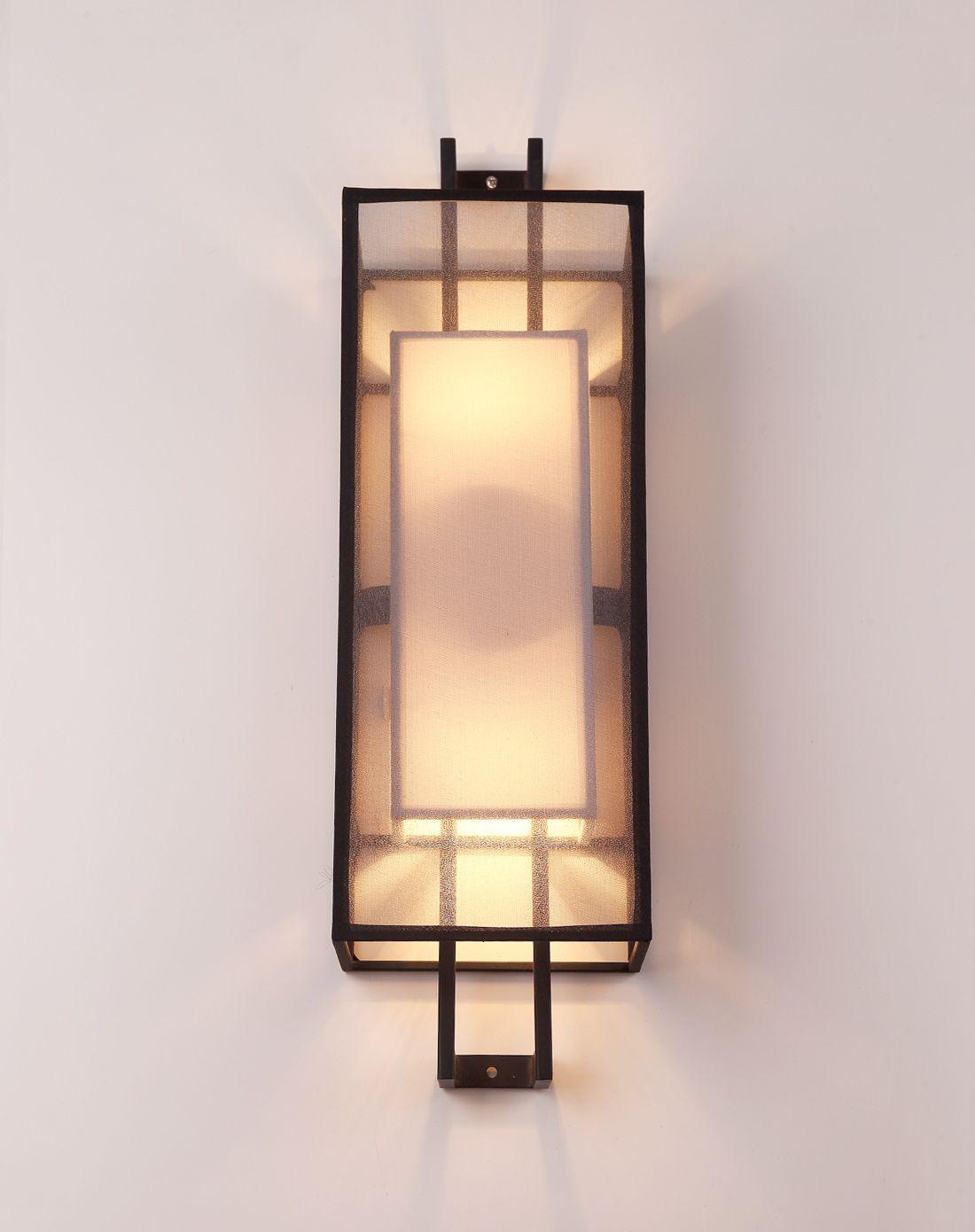 新中式壁灯 创意