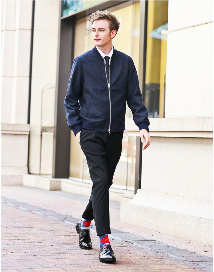 2016新款 黑色复古英伦风商务正装鞋