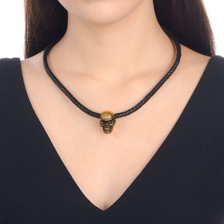 千足金黄金项链 珍珠链