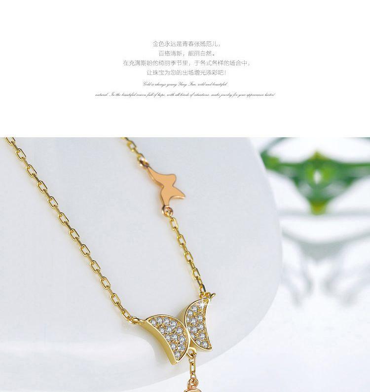 进口14k黄金项链