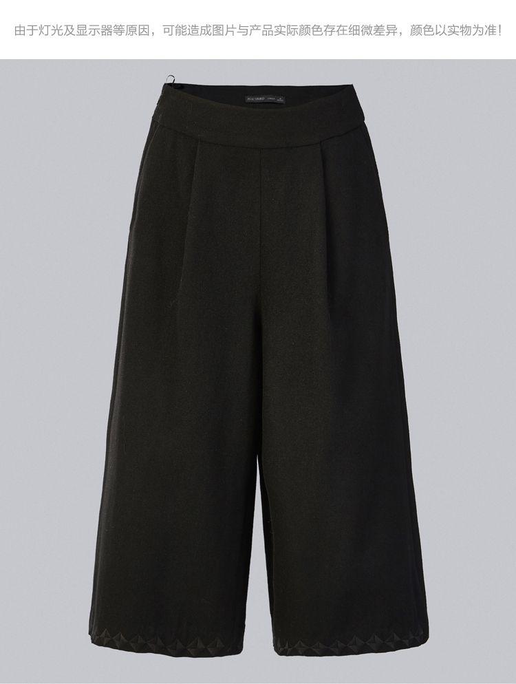 阔腿裤短裤
