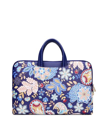 时尚手提包公文包可爱大容量14寸电脑包