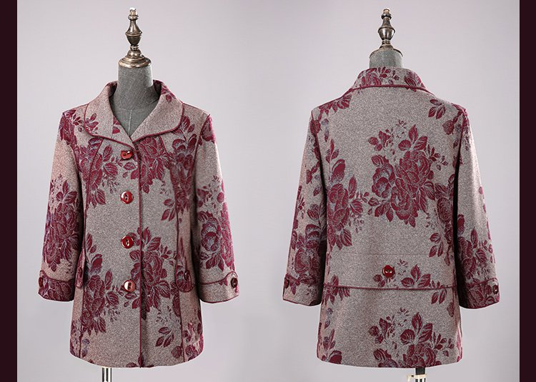 旗袍服饰带花纹简笔画