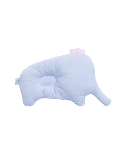 可爱小象宝宝枕头紫色