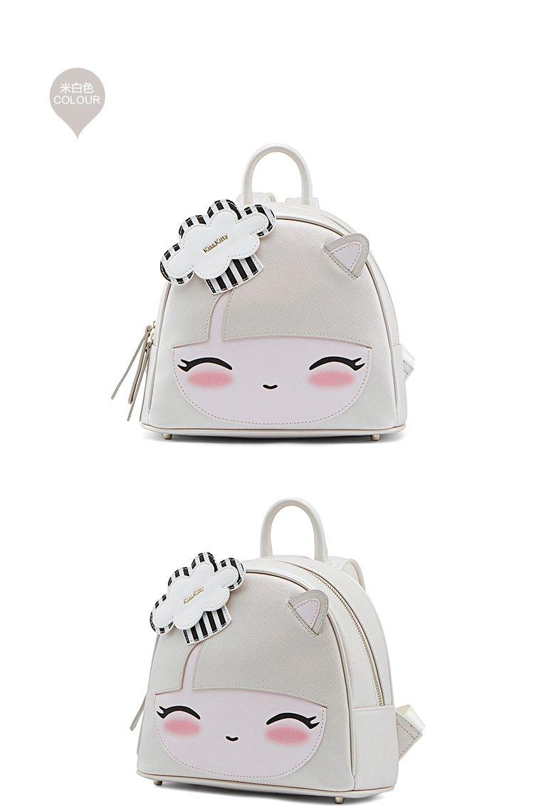 detail 品牌名称: kiss kitty 商品名称: 17专柜同款萌趣眯眼潮妹双肩