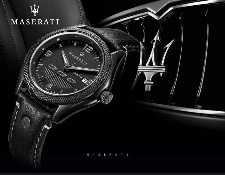 玛莎拉蒂超车系列时尚男士石英手表